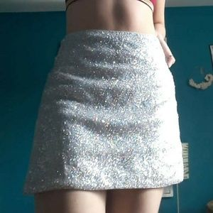 Intergalactique Mini Skirt 👽